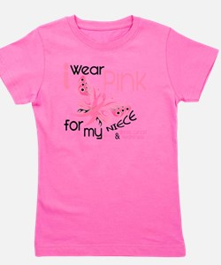- I Wear Pink for my Niece Girl's Tee