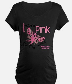 - I Wear Pink for my Niece T-Shirt
