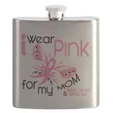 - I Wear Pink for my Mom Flask