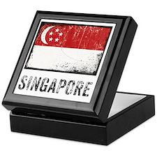 vintageSingapore3 Keepsake Box