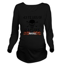 43 Long Sleeve Maternity T-Shirt