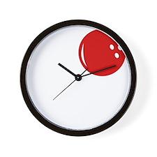 loveBowling1B Wall Clock