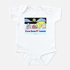 POLAR BEARS N' JAMMIES Infant Bodysuit