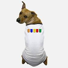 guitarColors1B Dog T-Shirt