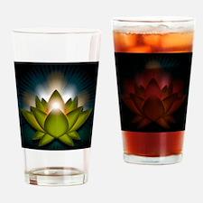 Chakra Lotus - Heart Green - Greeti Drinking Glass