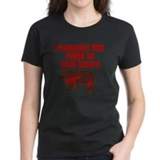 Right to arm bears Tee
