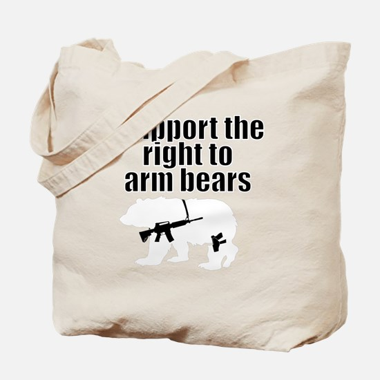 Right to arm bears Tote Bag