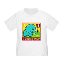 1st Birthday Elephant T