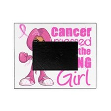 - Animated Boxer Girl Breast Cancer Picture Frame