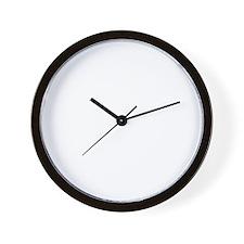 revbustdark Wall Clock