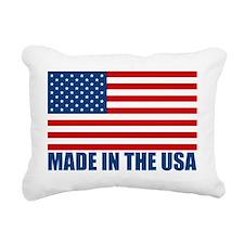 MADEINTHEUSA Rectangular Canvas Pillow