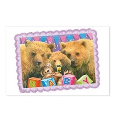 cp-ww-misc-babybear Postcards (Package of 8)