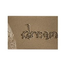 dream sepia Rectangle Magnet