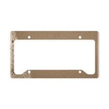 dream sepia License Plate Holder