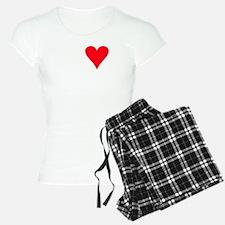 iheartllamas_black Pajamas