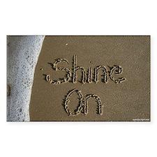 shine on Decal