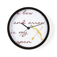 katniss2 Wall Clock