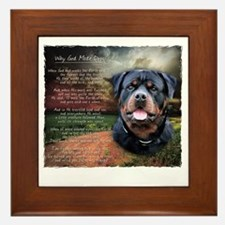 godmadedogs Framed Tile