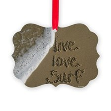 live love surf. Ornament