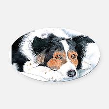 mattie_copy Oval Car Magnet