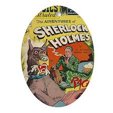 CI Sherlock BIG Oval Ornament