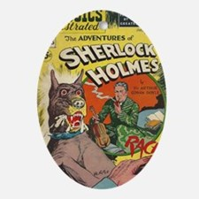 CI Sherlock BIG Oval Ornament