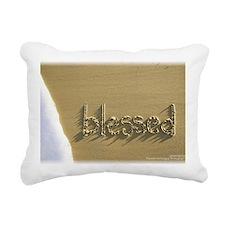 blessed Rectangular Canvas Pillow