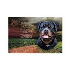 godmadedogs(oval) Rectangle Magnet