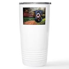 godmadedogs(oval) Travel Coffee Mug