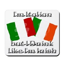italianirish Mousepad