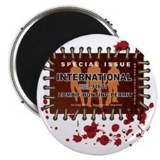 Zombie_Hunting_Permit_international Magnet