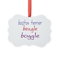 boggle(small)_black Ornament