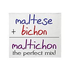 maltichon Throw Blanket