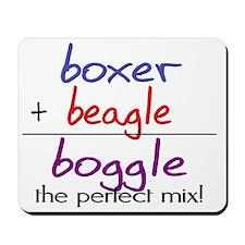 boggle(large) Mousepad