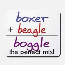 boggle(large) Mousepad