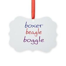 boggle(large)_black Ornament