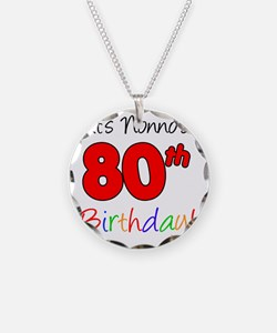 Nonnos 80th Birthday Necklace