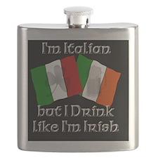 italianblackbutton Flask