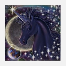 Stellar_Unicorn_16x20 Tile Coaster