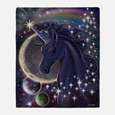 Stellar_Unicorn_16x20 Throw Blanket
