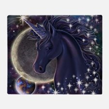 Stellar_Unicorn_16x16 Throw Blanket