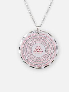 OdinsNofn(RBtrans) Necklace