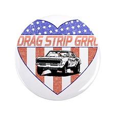 "DragStripGrrl_smalls 3.5"" Button"