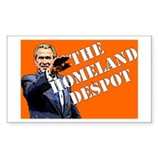 """The Homeland Despot"" Rectangle Decal"