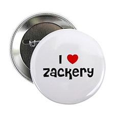"I * Zackery 2.25"" Button (10 pack)"