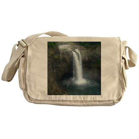 Snoqualmie Falls Messenger Bag