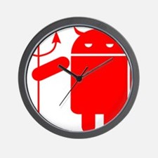 devil android Wall Clock