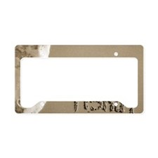 gone fishin License Plate Holder
