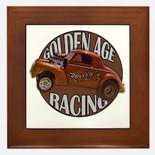 golden age willies brown Framed Tile