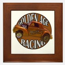 golden age willies copper Framed Tile